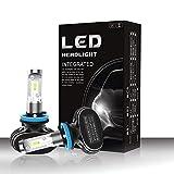 Foco Led Tractor Lámpara de la linterna del LED Hi/Lo/Single Beam H4 / H7 / H11 / 9005/9006 36W 4000Lm 6500K Linterna llevada impermeable con las virutas estupendas CSP brillantes 2pcs