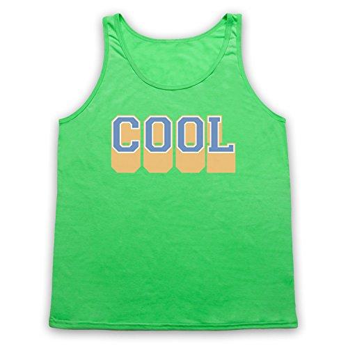 Cool Hipster Tank-Top Weste Neon Grun