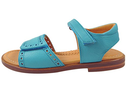 Zecchino d'oro f 21–5163 ouvert sandales pour fille Turquoise - Türkis(1791)
