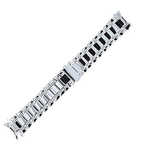 Hugo Boss Uhrenarmband 22mm Edelstahl Silber - Uhrband 659002410