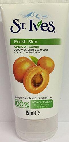 St Ives Apricot Scrub, belebend, sechs Packungen, 150ml (St Ives Gesichtspflege)