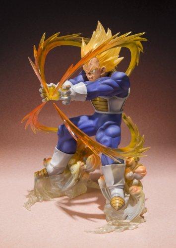 Bandai 31646 - Figura Dragon Ball Z Bola de Dragón (31646) - Figura Dragon Ball Vegeta Super Saiyan (13 cm) 3