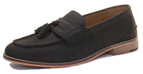 Justin Reece Morris, Black Rk1 Chaussures À Lacets Pour Hommes