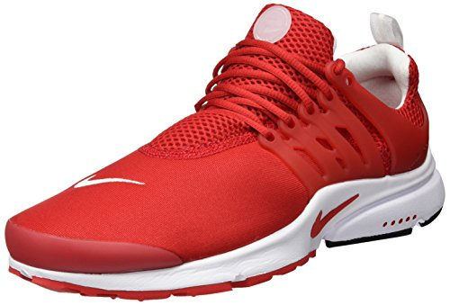 Nike Air Presto Essential, Scarpe da Ginnastica Uomo Rosso (University Red/University Red/White)