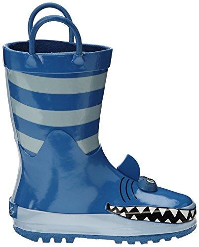 Be Only Shark, Bottes de pluie mixte enfant Bleu