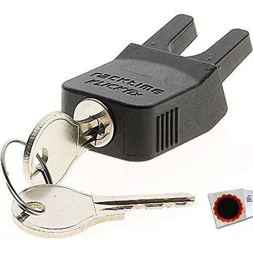 RACKTIME Schloss Secure-it + 2 Schlüsseln ca. 10g 17009 4027816170099 +Flicken