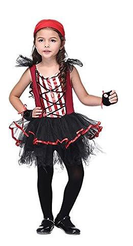 Batgirl Costumes Pour Tout-petits - La Vogue Fille Viking Pirate Gant Fichu