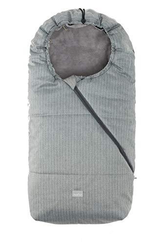 Nuvita 9635 Pop Junior - Chanceliere Universelle - Compatible avec la Plupart des Poussettes - 100 x 46 cm - Chaude, Imperméable et Coupe-Vent - 6 à 36 Mois
