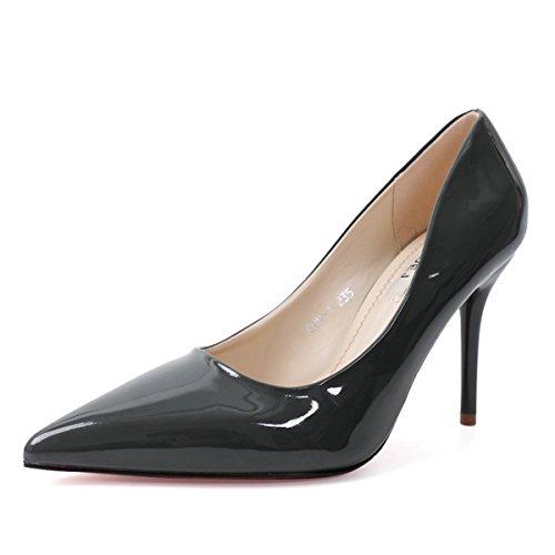 XTIAN - Scarpe con Tacco Donna Grigio scuro