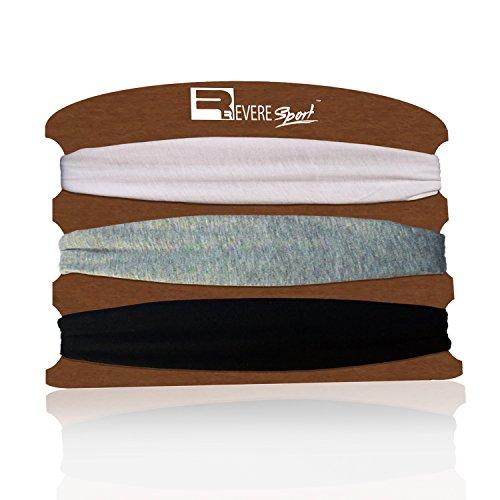 Sport StirnbänderSet für Joggen, Laufen, Yoga und Fitness. Schweißband für Herren und Damen