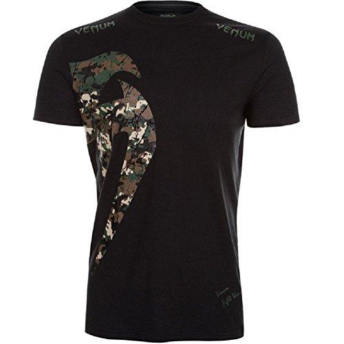 Venum T-Shirt Giant - Ice/Purple - MMA BJJ Shirt,Kampfsport Shirt,Jiu Jitsu Shirt,Sport Shirt (M)