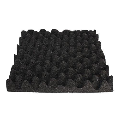 ChaRLes Huevos Negros Insonorización Espuma Amortiguadores