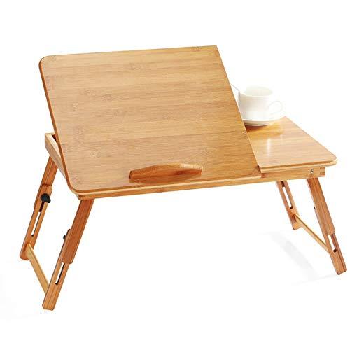 QQWWEE Einstellbare Computer Stand Laptop Schreibtisch Notebook Computer Laptop Tisch Für Bett Sofa Tray Schlafzimmer Tisch Studie Tisch -