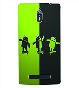 ColourCraft Cartoon Back Case Cover for OPPO FIND 7