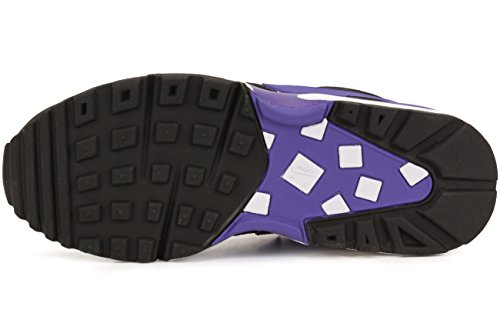 Nike - Wmns Air Max Bw, Scarpe sportive Donna Nero (Negro (Black / Persian Violet-White))