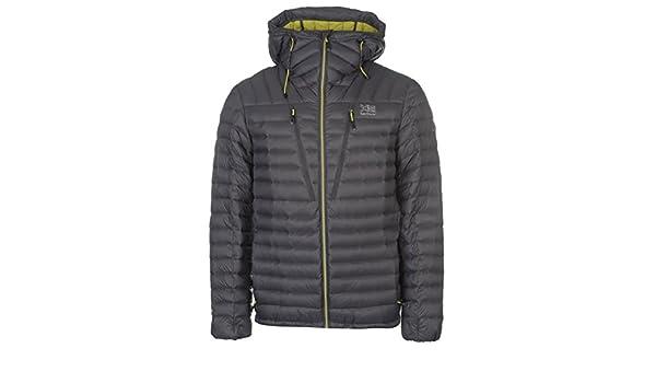 35324f7b0 Karrimor Mens Alpiniste Down Jacket Coat Top Long Sleeve Chin Guard ...
