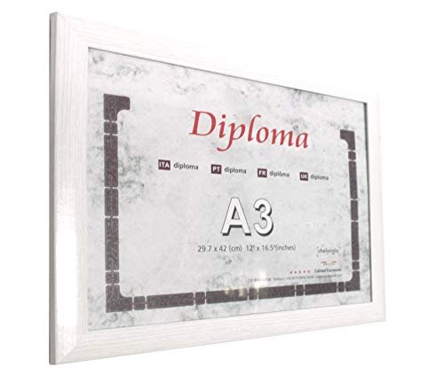 Chely Siglo, Marcos Diplomas A3 Pared MOD-257Blanco