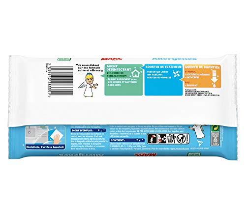 St Marc Pack de 40 Lingettes Anti-Allergènes Equivalent à 80 Lingettes
