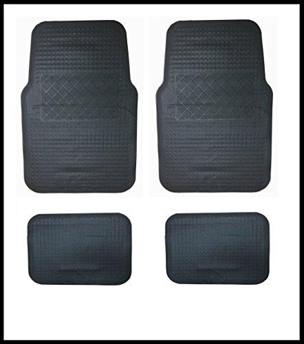 Universal Fußmatten Schwarz 4tlg. Gummimatten Automatten