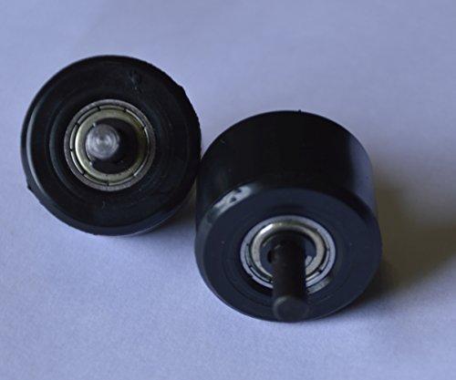 Ersatzrollen für automatische Roll-Sneaker - Verschiedene Farben Schwarze
