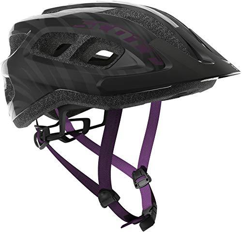 Scott Supra MTB Fahrrad Helm Gr. 54-61cm schwarz/lila 2019