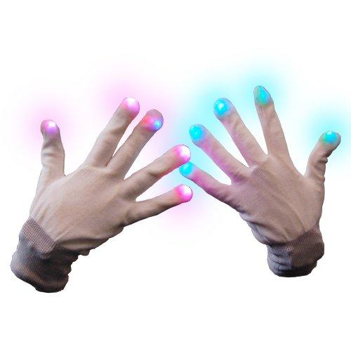 ED Handschuhe mit leuchtenden fingerkuppen (James Dean Kostüm)