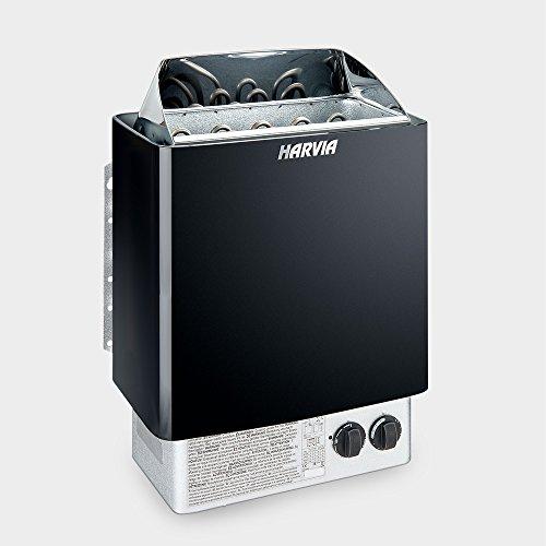 Saunaofen Harvia Trendi Black 8 kW 400 V mit integrierter Steuerung