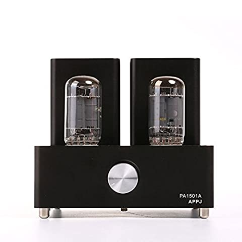 APPJ PA1501A mini tube amplifier with 6AD10 tube(black)