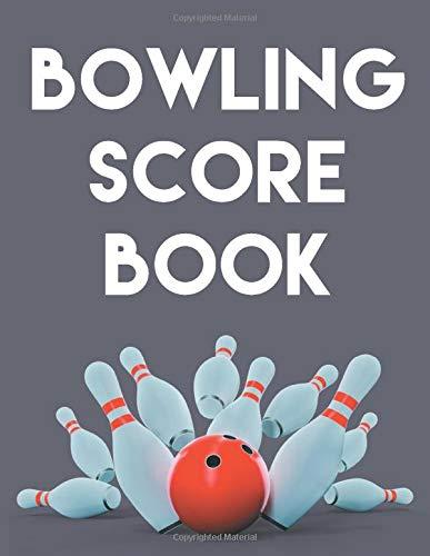 Bowling Score Book: An 8.5