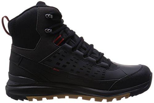 SalomonKaïpo Mid GTX - Scarpe da trekking e da passeggiata Uomo Nero (Schwarz (Black/Asphalt/Flea))