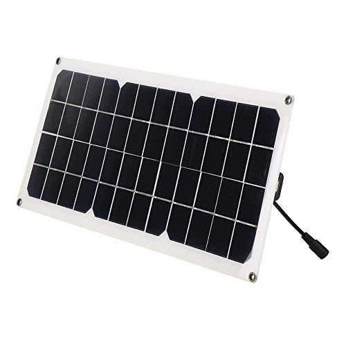 10W 5V USB Flexibler Einkristall Solar Power Panel Kit Auto Ladegerät Controller, geeignet zum Laden im Freien für Handys, Kameras, Laptops Solar-auto Kits