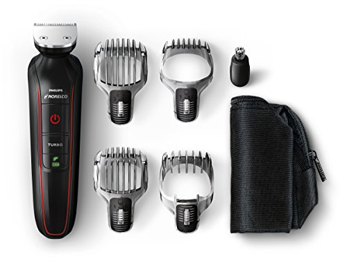 Norelco QG3372/41 Philips Multigroom Beard, Stubble, Hair, Nose and Body Trimmer  available at amazon for Rs.7438