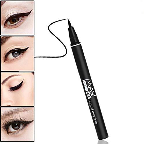Cooljun Eyeliner-Liquid Eyeliner Waterproof-Système de Circulation d'Encre-Noir