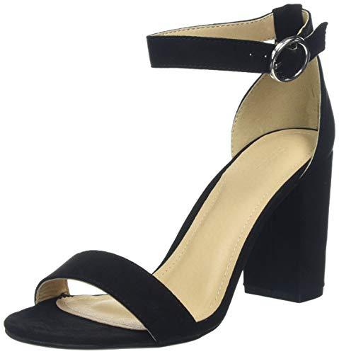 Pimkie Sandales noires à talons Femme - Taille 37