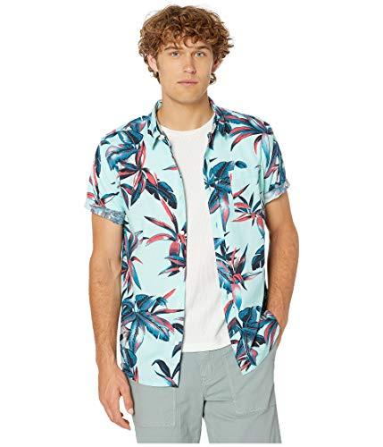 Quiksilver Mens Deep Bay Ss Short Sleeve Hawaiian Shirt -