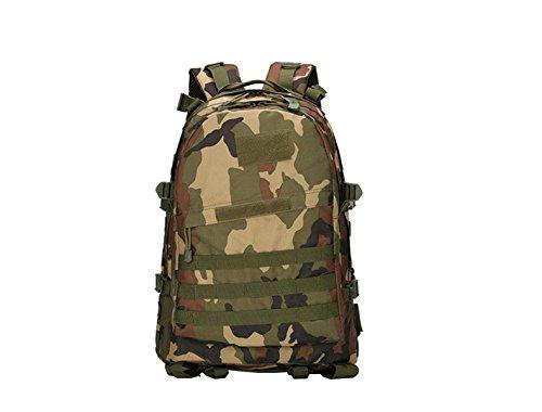 Xin.S50L Multifunzionale Zaino Da Viaggio Camouflage Impermeabile Indossabile Borsa A Tracolla Esterna Borsa Da Viaggio Per L'alpinismo Zaino Multifunzionale. Multicolore A