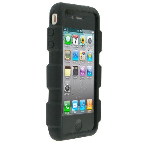 Contour Design Moulded Claw Silicone Schutzhülle für iPhone 4 schwarz Contour Design Iphone