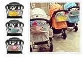 Bheema - Portaoggetti per passeggino decorato con disegni per bambini