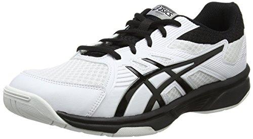 ASICS Mens Upcourt 3 Volleyball Shoes, Weiß, 44.5 EU