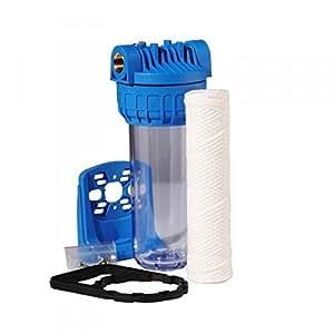 Filtre à eau anti sédiment 20 microns pré filtration pour stérilisateur UV filtre à particule
