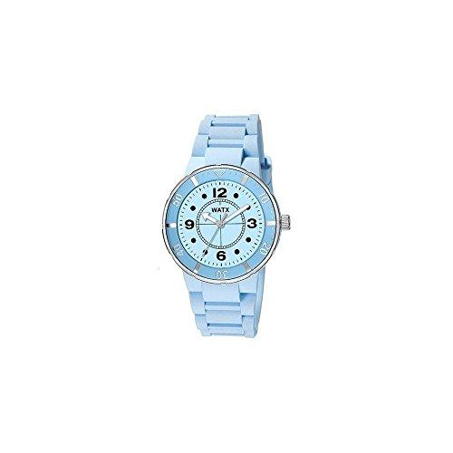 b5b2a63b9b7f Watx Reloj Análogo clásico para Mujer de Cuarzo con Correa en Caucho RWA1605