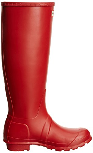 Hunter Original Tall Wellington, Damen Gummistiefel Rot (Military Red)