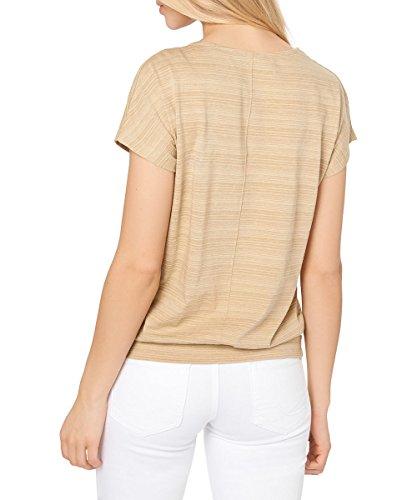 zero Damen Shirt in Oversize-Schnittform 403007 sand-m