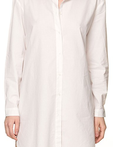 B.Young Women's Falea Women's Optical White Long Shirt 100% Cotton White