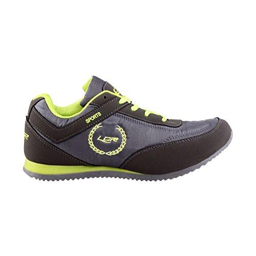 10% OFF on Lancer Men's Black and White Mesh Running Shoes