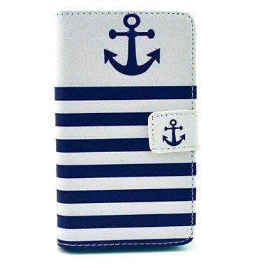 Schöne Fälle, Abdeckungen, Die Bootshaken PU-Leder Ganzkörper-Case mit Ständer und Card Slot für Huawei Y530