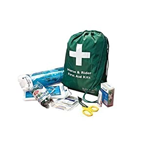 41W%2BJrggFDL. SS300  - William Hunter Equestrian Horse and Rider First Aid Kit - White
