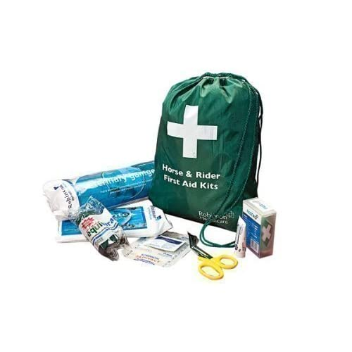 41W%2BJrggFDL. SS500  - William Hunter Equestrian Horse and Rider First Aid Kit - White