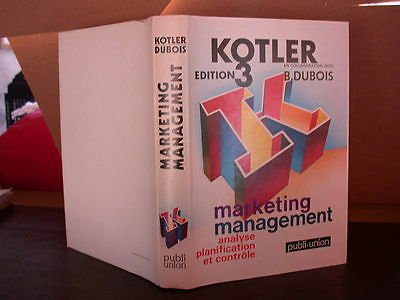 Marketing, management par Philip Kotler