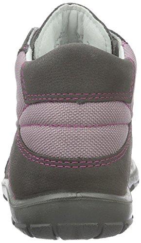 Superfit Softtippo, Chaussures Marche Bébé Fille Gris - Grau (Stone Multi 07)